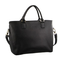 Pierre Cardin Black Business Tote