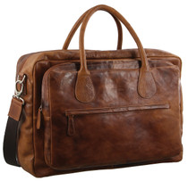 Pierre Cardin Leather Holdall