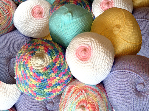 Knitted knockers knit in knitted knockers on the other hand are soft comfortable beautiful and when placed in a regular bra they take the shape and feel of a real breast ccuart Images