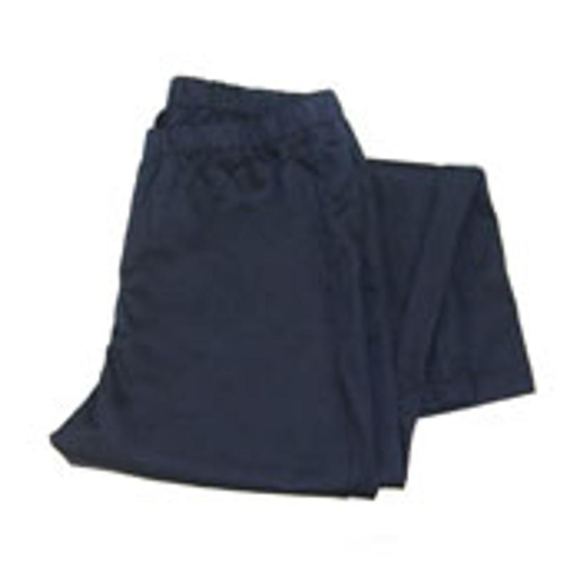Women's Straight Leg Chef Pants in Navy