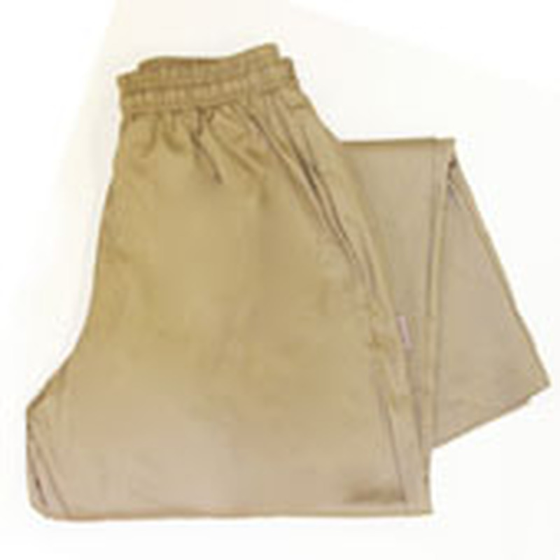 Women's Chef Pants in Khaki