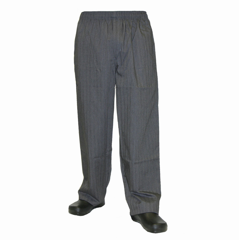 Baggy Chef Pants in Classic Broken Twill