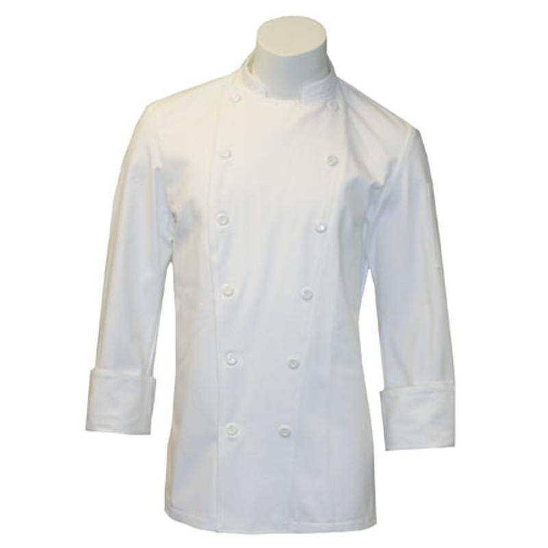 Modesto Coat in White Twill