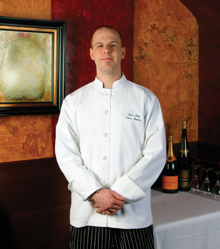 Build Your Own Premium Mandarin Chef Coat