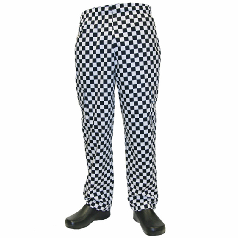 Cargo Chef Pants in Big Check