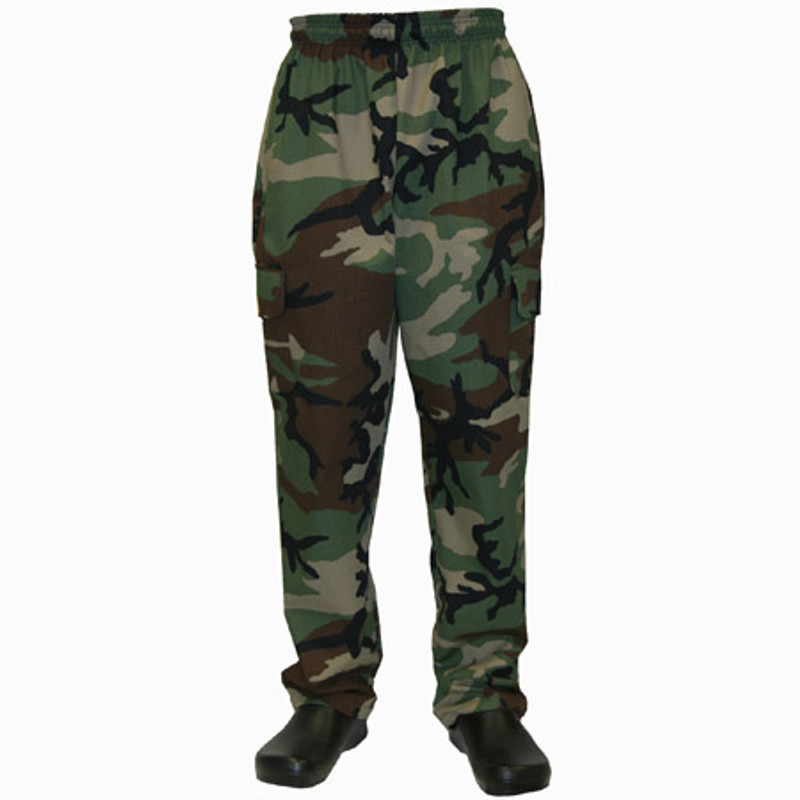 Cargo Chef Pants in Camouflage