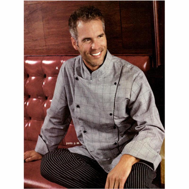 Corded Chef Coat in Chef's Glen
