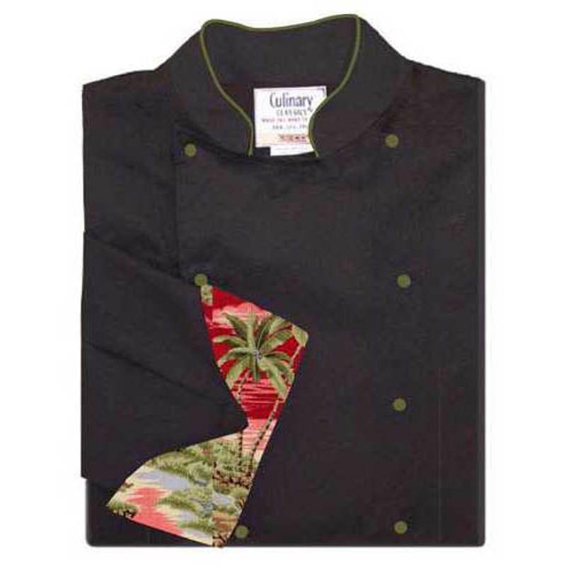 Women's Traditional Coat in Black Soil-Release Twill