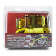 Tie Down E-Track Tire Strap w/ Ratchet