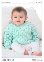 Premature Baby Cardigans and Sweater DK Pattern | UKHKA127