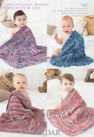 Baby Blanket DK Knitting Pattern | Sirdar Baby Crofter DK 1481