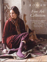 Rowan Knitting Pattern Book - Fine Art Collection