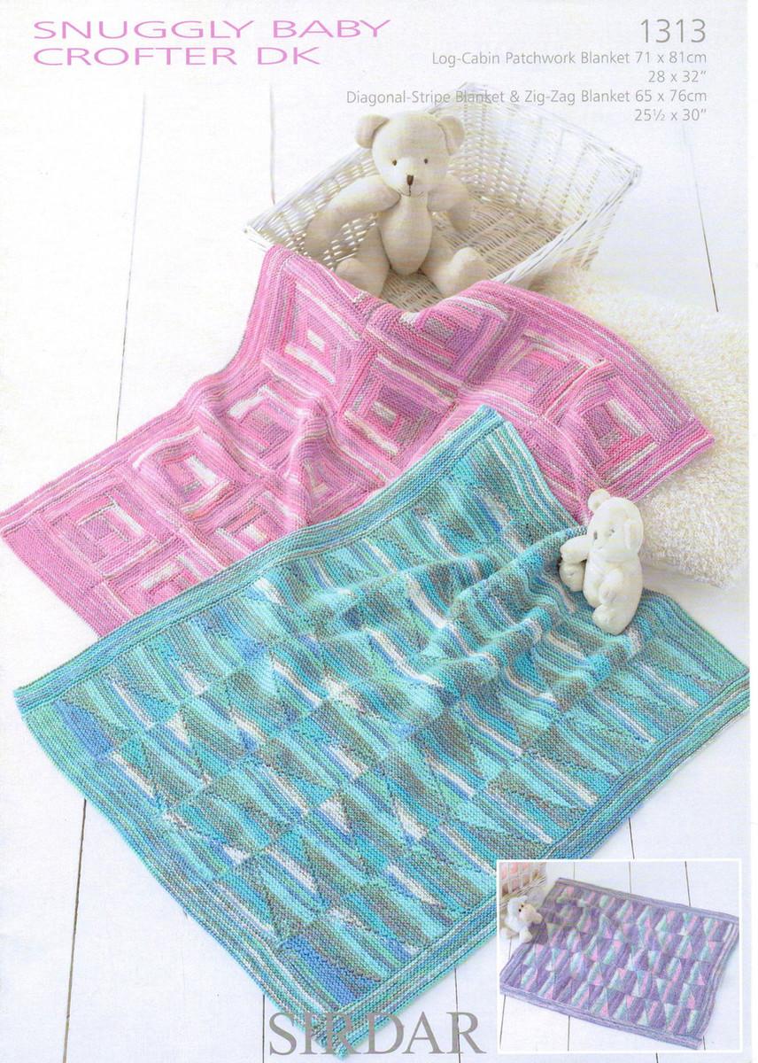 Baby Blankets Dk Pattern Sirdar Snuggly Baby Crofter Dk