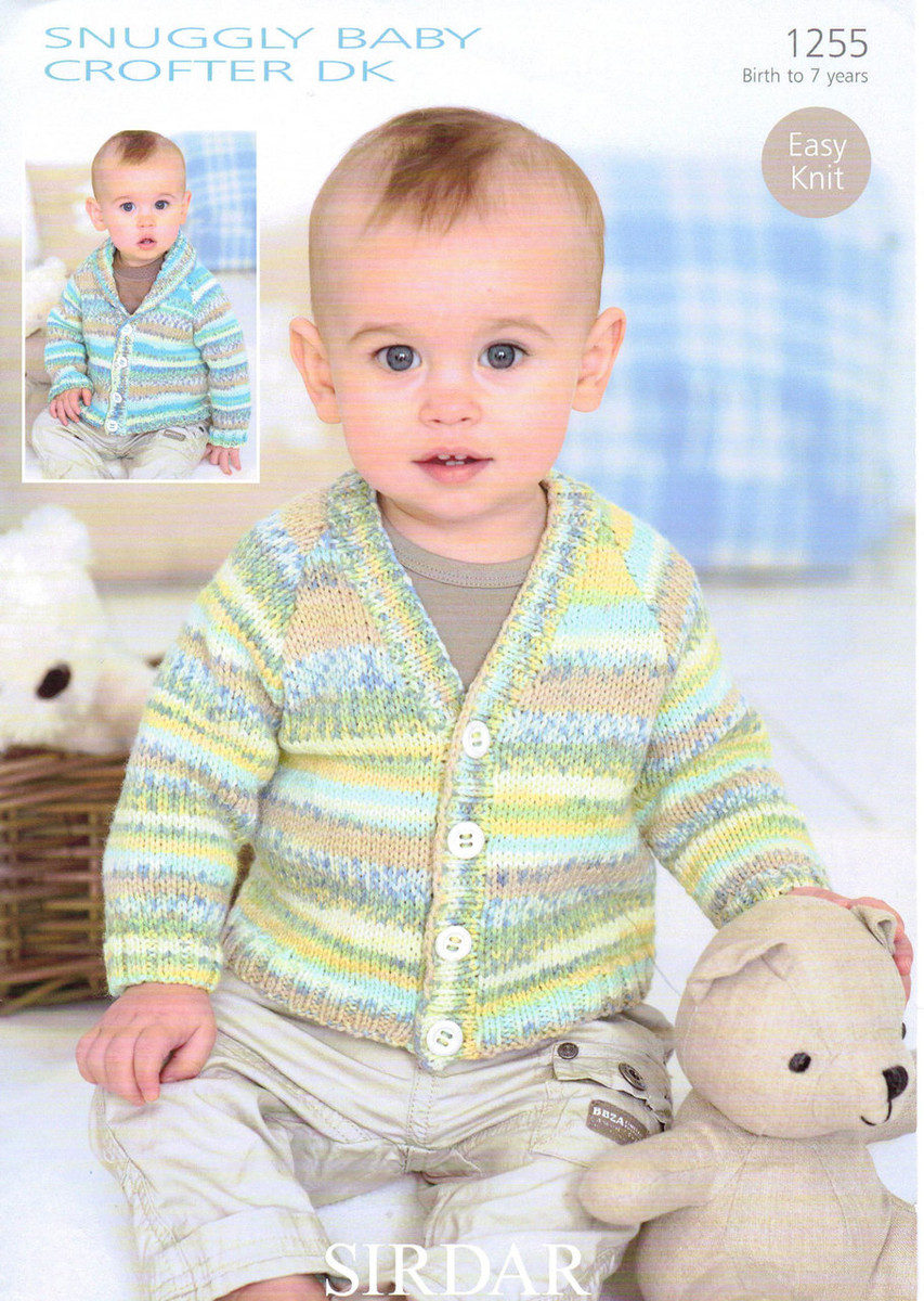 08c29cd6922a Baby   Childs Cardigan Pattern
