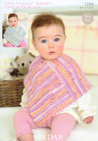 Baby / Child Ponchos DK Patterns | Sirdar Snuggly Baby Crofter DK 1254