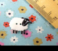 Sheep Buttons - 23mm in Size