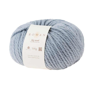 Rowan Big Wool 100g  | various shades - 21 Ice Blue