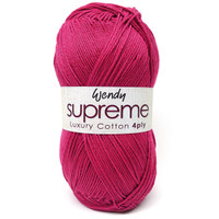Wendy Supreme Cotton 4 Ply - Main
