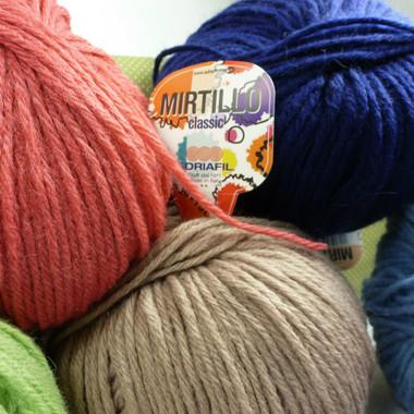 Adriafil Mirtillo Chunky Knitting Yarn, 100g Balls | Various Colours - Main Image