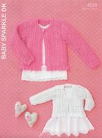Hayfield Baby Sparkle Pattern - 4539