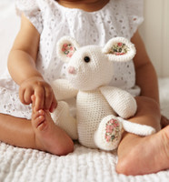 Toy Mouse Crochet Pattern | Debbie Bliss Rialto 4 Ply