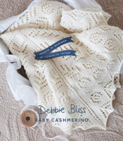 4ply Pattern for a Babys Shawl - Debbie Bliss Baby Cashmerino