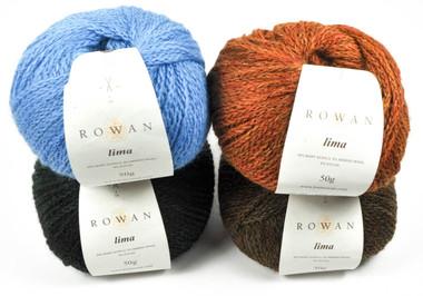 Rowan Lima Knitting Yarn Collection - Main Image