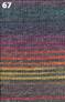 Adriafil Zebrino knitted up - 67
