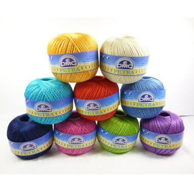 DMC Petra Crochet Thread 3 Tkt - Main Image Stacked Balls