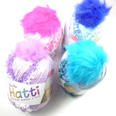 Peter Pan Hattie Hat Making Knitting Yarn | Outback Yarns