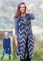 Chevron Waistcoat Pattern | 5971 | Wendy Eider/Serentiy Chunky
