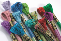 DMC Light Effects Six Strand embroidery thread - Jewel Shades
