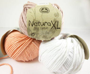 DMC Natura XL chunky cotton yarn 100g balls