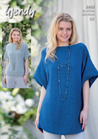 Dk Pattern for Scoop Hem Sweater and Tunic | 5993 | Wendy Fleur Dk