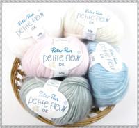 Peter Pan Petite Fleur DK Baby Yarn, 50g Balls   Various Colours - Main image