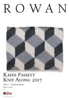 Kaffe Fassett Knit along 2017 - Rowan yarns Week 1