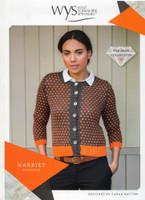 Harriet Cardigan Pattern  | WYS Wensleydale Gems