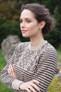 Rowan Cashmere Tweed Dk - Mackintosh jumper close up