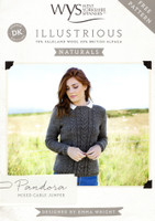 Mixed Cable Jumper Pattern | WYS Illustrious - Main image
