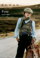 Fyne Tank Top Knitting Pattern | Rowan Felted Tweed DK | Free Downloadable Pattern - Main Image