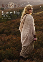 Bressay Hap Wrap Shawl in Rowan Fine Lace Yarn - Free Downloadable Knitting Pattern - Main Image