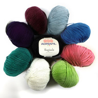 Rugiada 4ply yarn - The collection