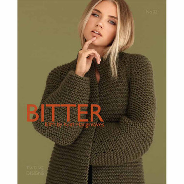 Bitter Knitting Pattern Book by Kim Hargreaves