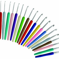 KnitPro | Waves Soft Grip Colourful Handle Crochet Hooks | 2mm - 12mm - Main Image