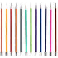 KnitPro | Zing Metal Knitting Needles | Single Point | 25cm