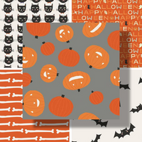 Cats, Bats and Jacks | Riley Blake | Individual Fabrics