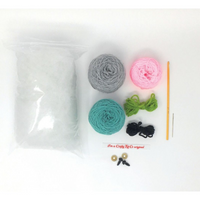 Knitting and Crochet Kits | Crafty Kit Co. | Various Designs