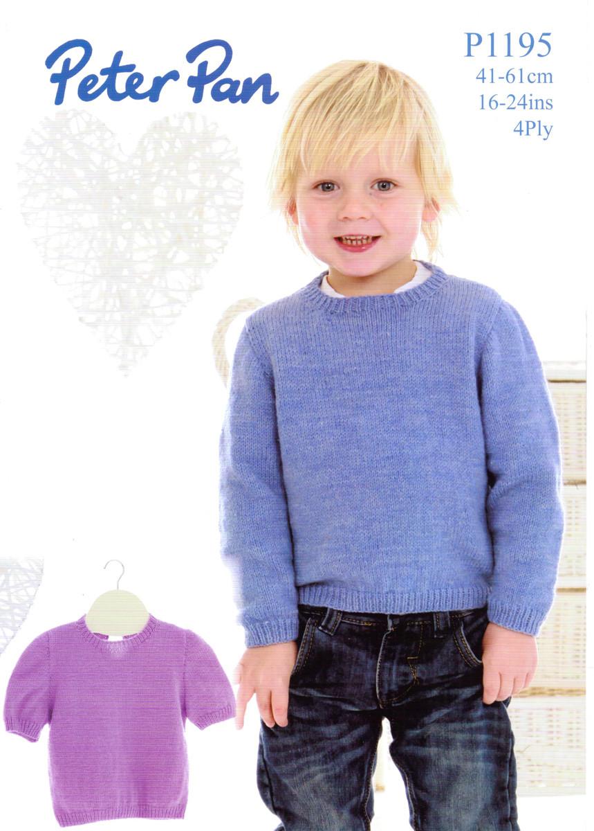 ee1ba4599ba5 Long   Short Sleeved Sweaters 4 Ply Pattern
