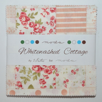 Whitewashed Cottage | 3 Sisters | Moda Fabrics | Charm Pack - Main Image