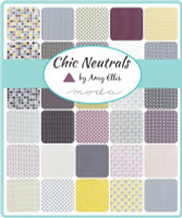 Chic Neutrals | Amy Ellis | Moda Fabrics | Layer Cake - Swatches in the collection
